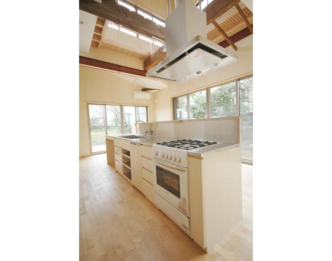 オープンキッチンのつくり方 の作品写真