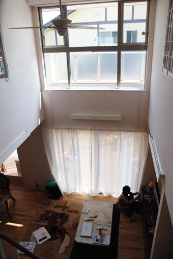 高窓のメンテナンス