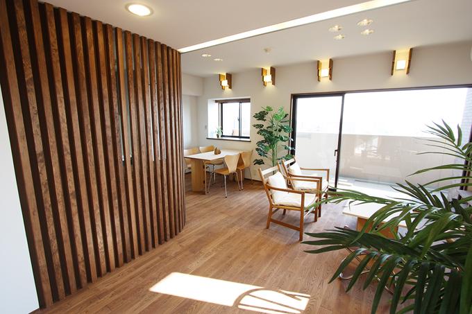 インテリアのテーマは「カフェ」、な空間。